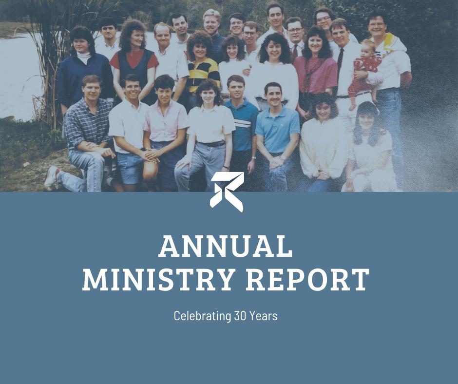 2019 Annual Minsitry Report